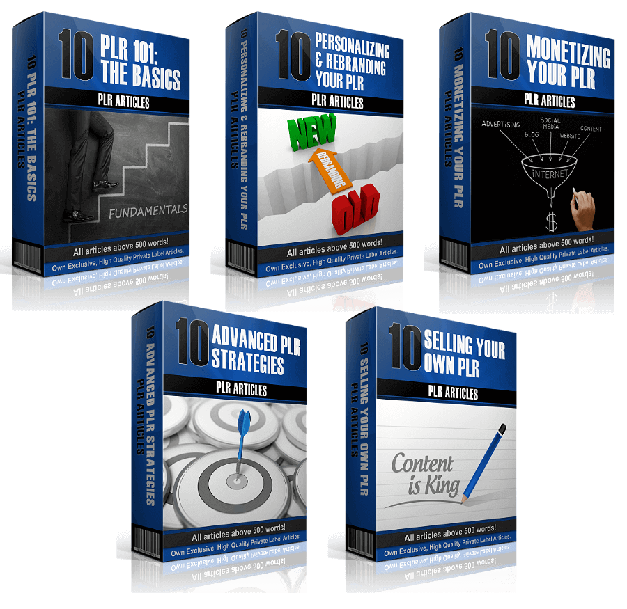 PLR On PLR – 50 Brand New Articles Review